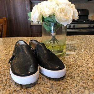 Banana Republic black sneakers